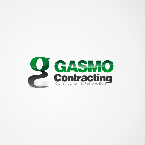 Logo Design by R1CK_ART - Entry No. 23 in the Logo Design Contest Professional Logo Design for Gasmo Contracting.