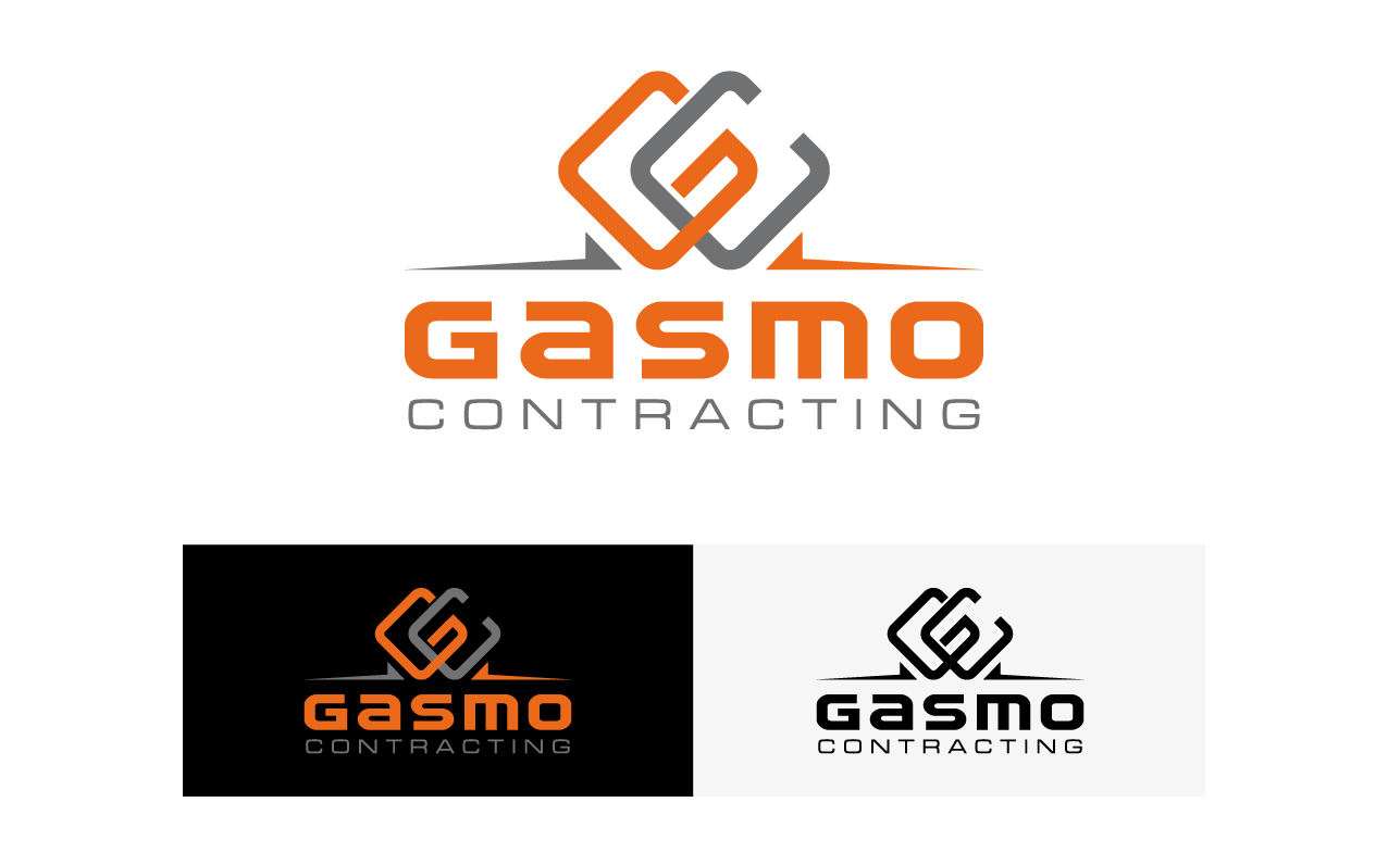 Logo Design by djacoob - Entry No. 24 in the Logo Design Contest Professional Logo Design for Gasmo Contracting.