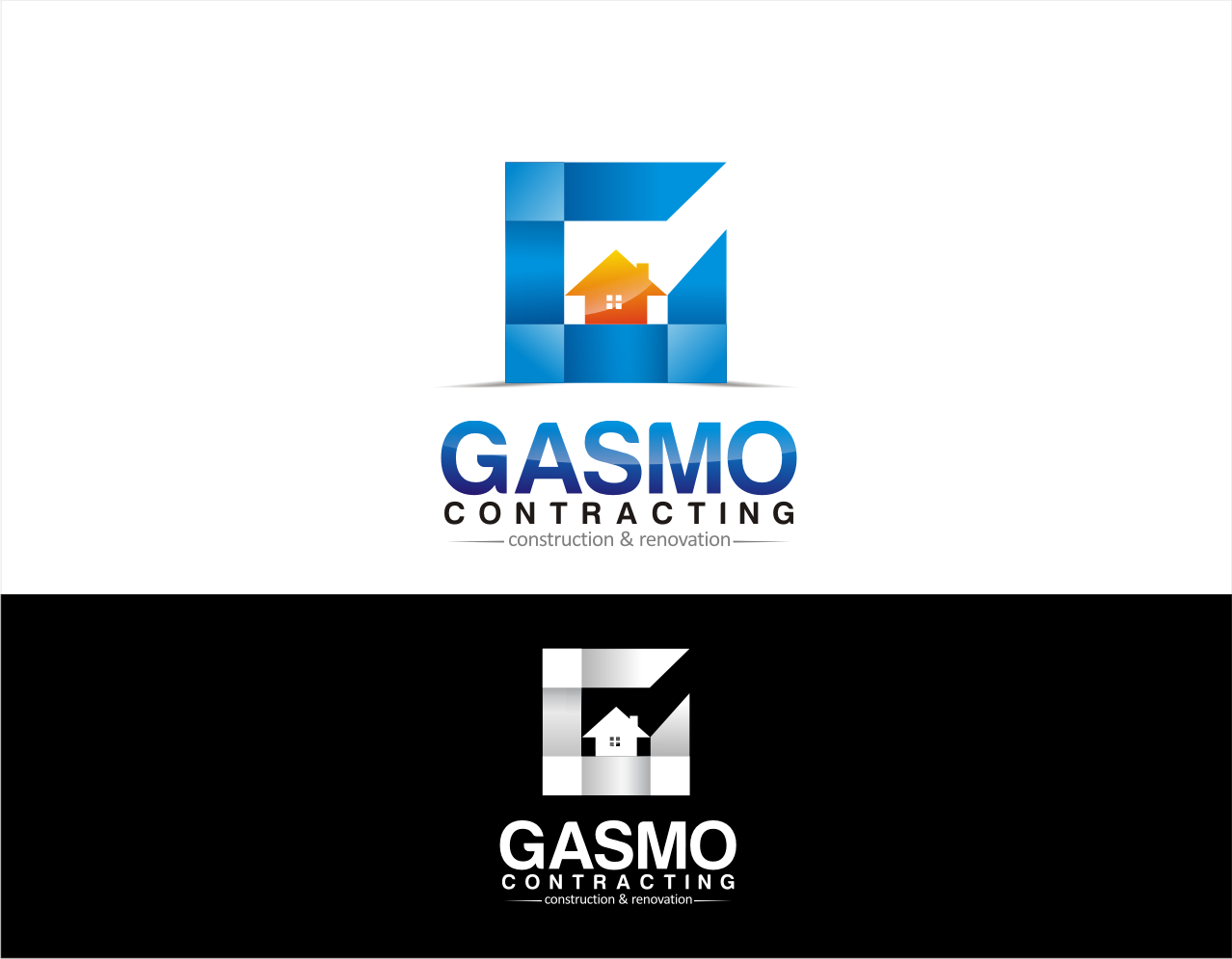 Logo Design by walangsangit - Entry No. 30 in the Logo Design Contest Professional Logo Design for Gasmo Contracting.