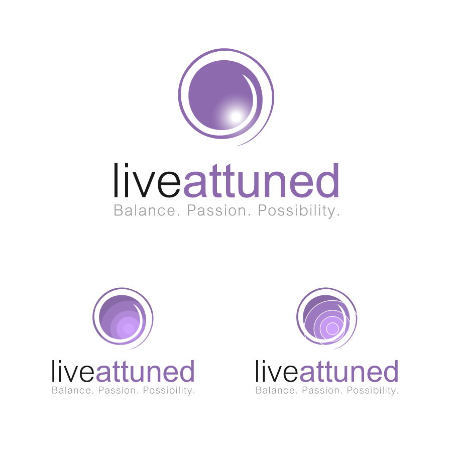 Logo Design by zesthar - Entry No. 110 in the Logo Design Contest New Logo Design for Live Attuned.