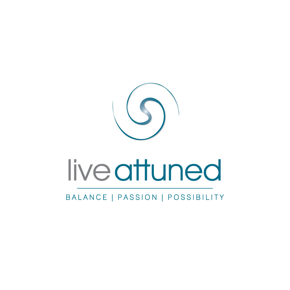 Logo Design by moonflower - Entry No. 111 in the Logo Design Contest New Logo Design for Live Attuned.