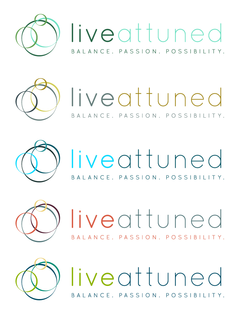 Logo Design by rachna - Entry No. 113 in the Logo Design Contest New Logo Design for Live Attuned.