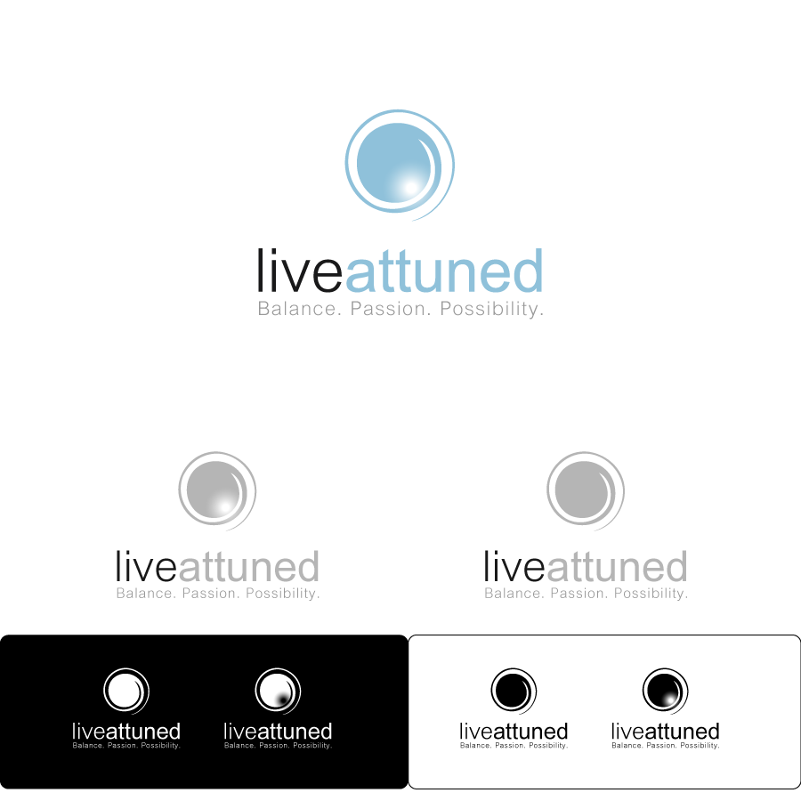 Logo Design by zesthar - Entry No. 118 in the Logo Design Contest New Logo Design for Live Attuned.