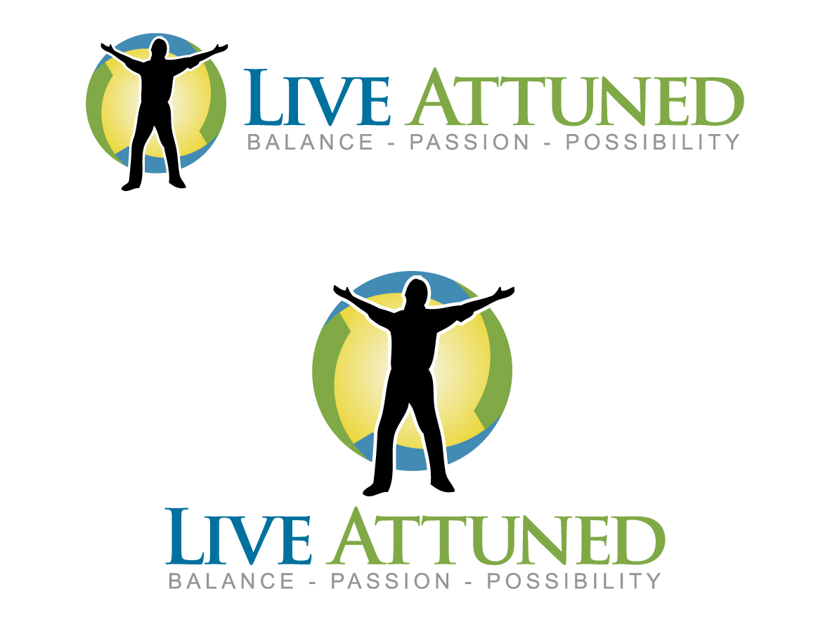 Logo Design by caturro - Entry No. 124 in the Logo Design Contest New Logo Design for Live Attuned.