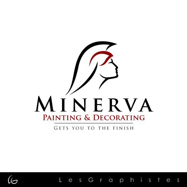 Logo Design by Les-Graphistes - Entry No. 1 in the Logo Design Contest New Logo Design for Minerva Painting & Decorating Ltd..