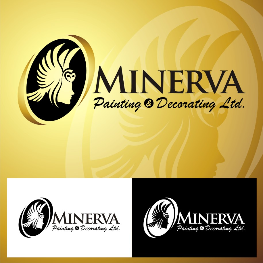 Logo Design by Heru budi Santoso - Entry No. 3 in the Logo Design Contest New Logo Design for Minerva Painting & Decorating Ltd..