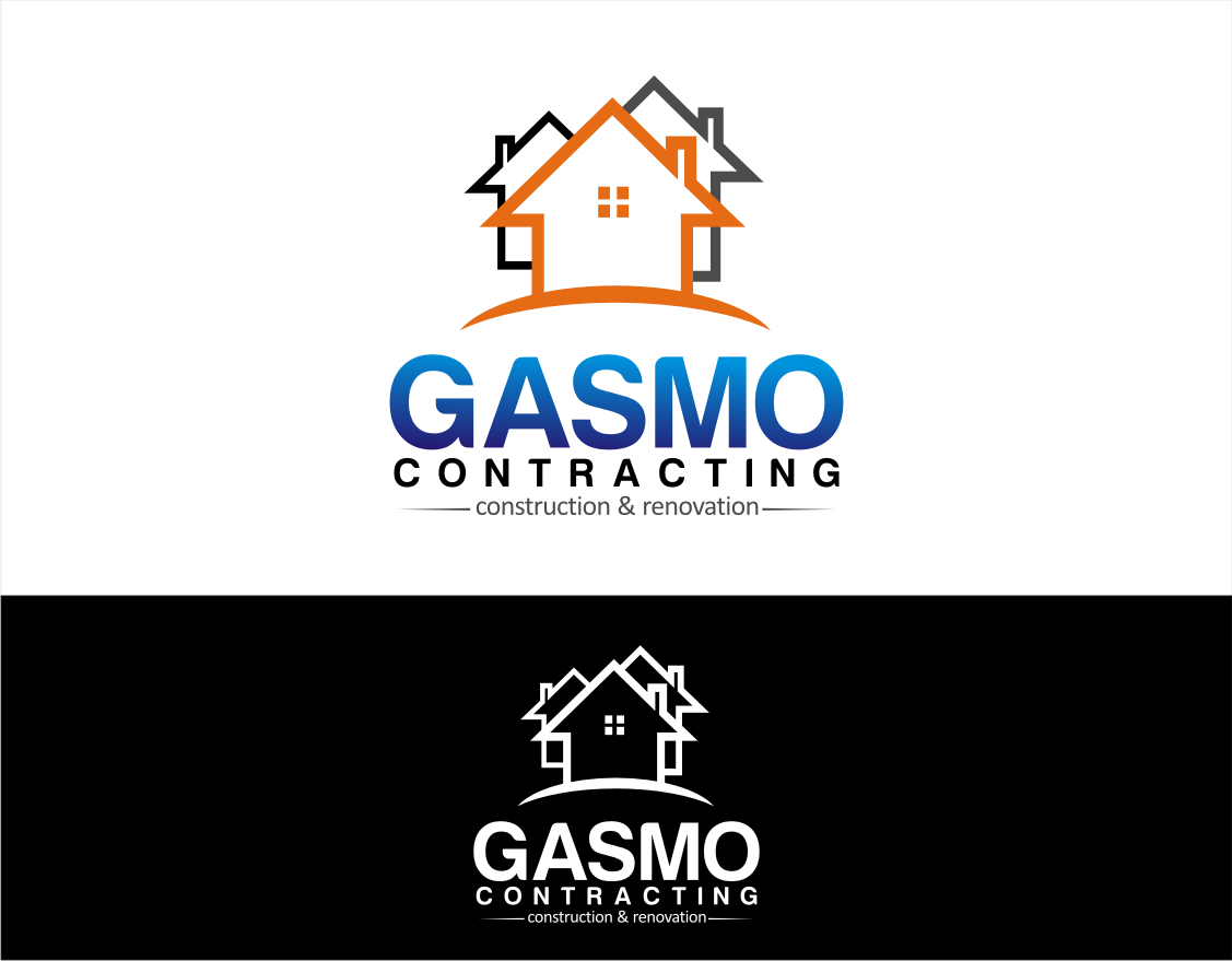 Logo Design by walangsangit - Entry No. 37 in the Logo Design Contest Professional Logo Design for Gasmo Contracting.