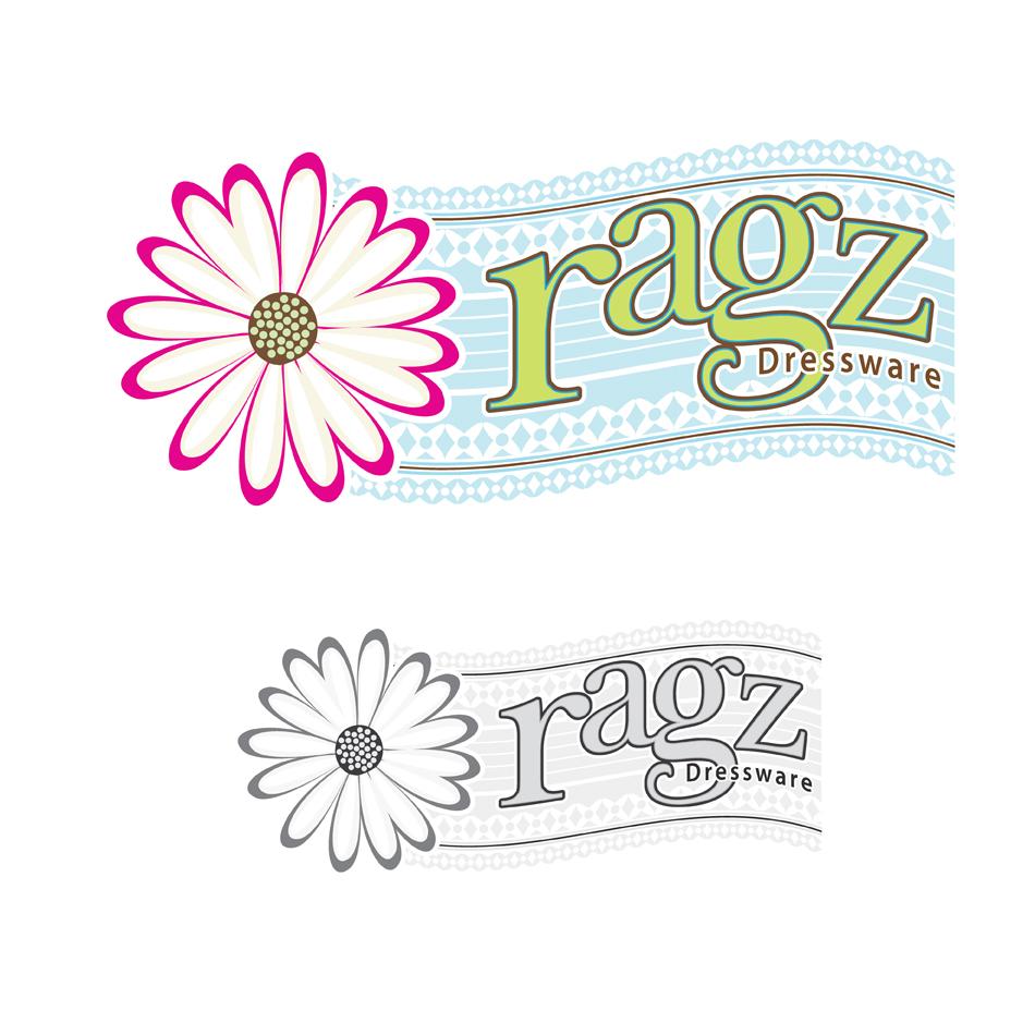 Logo Design by jdkovak - Entry No. 317 in the Logo Design Contest Ragz Dressware.