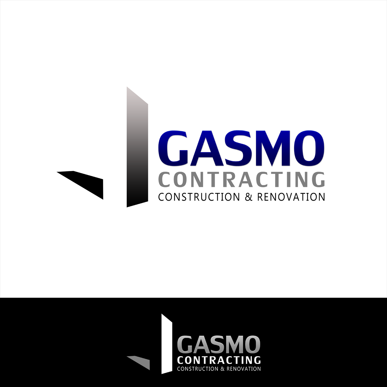 Logo Design by Carolina - Entry No. 43 in the Logo Design Contest Professional Logo Design for Gasmo Contracting.