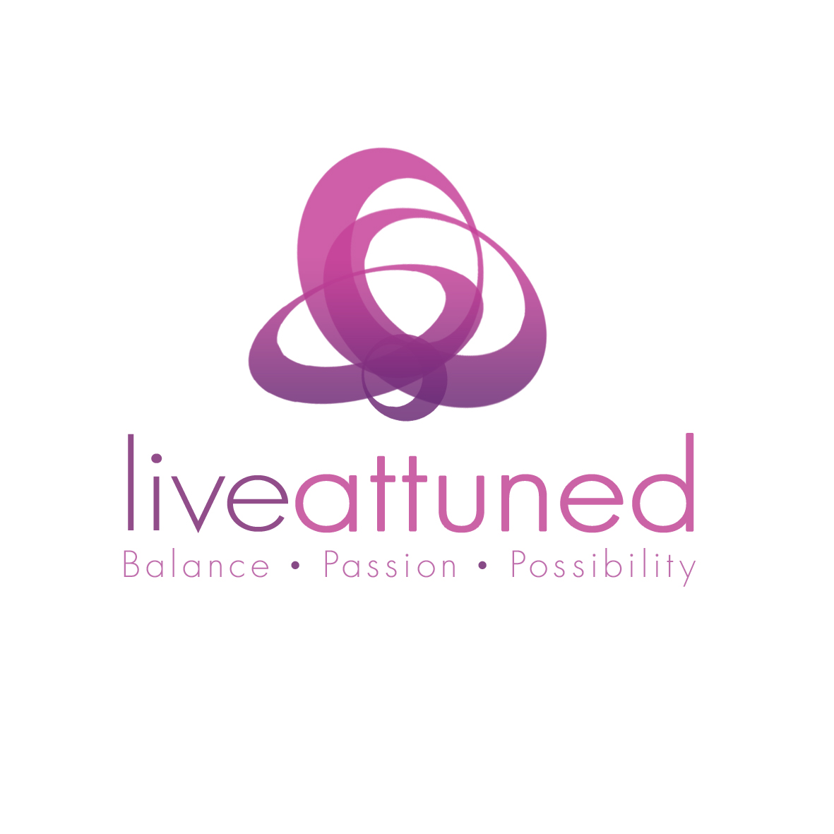 Logo Design by mersina - Entry No. 139 in the Logo Design Contest New Logo Design for Live Attuned.