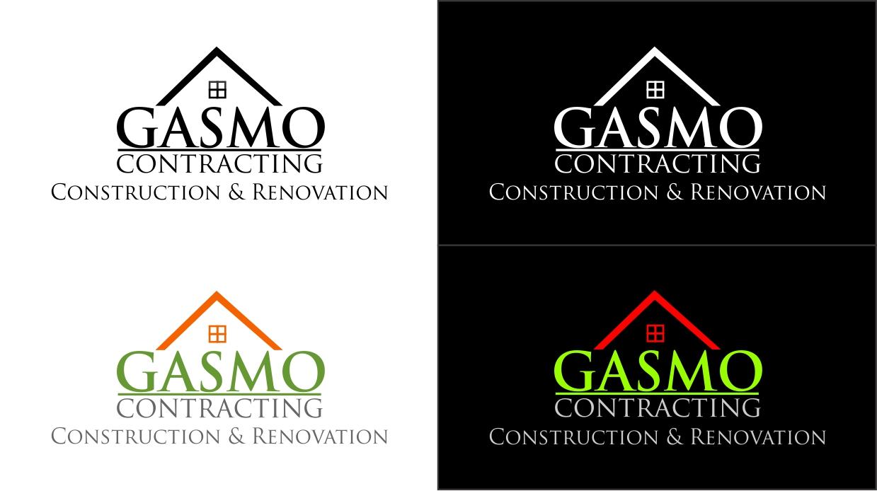 Logo Design by dzoker - Entry No. 46 in the Logo Design Contest Professional Logo Design for Gasmo Contracting.