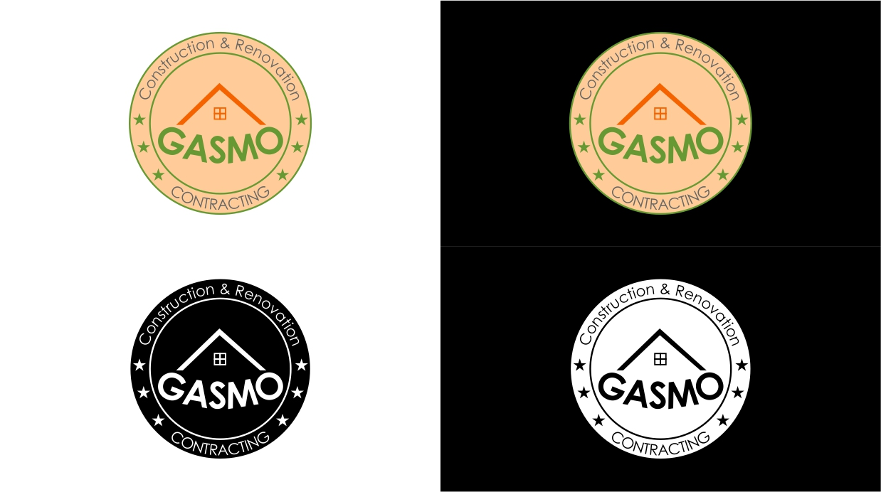 Logo Design by dzoker - Entry No. 47 in the Logo Design Contest Professional Logo Design for Gasmo Contracting.
