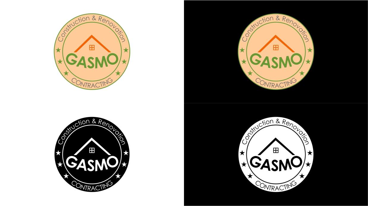 Logo Design by dzoker - Entry No. 47 in the Logo Design Contest Professional Logo Design for Gasmo Contracting.