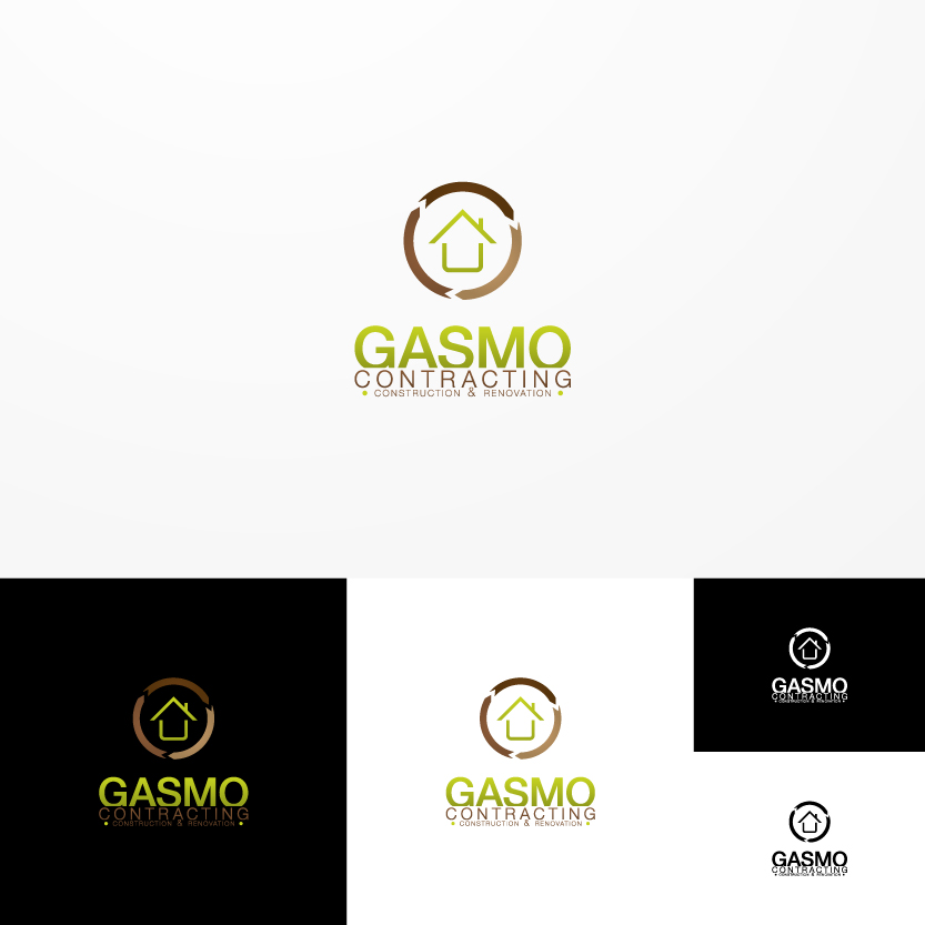 Logo Design by Alpar David - Entry No. 48 in the Logo Design Contest Professional Logo Design for Gasmo Contracting.