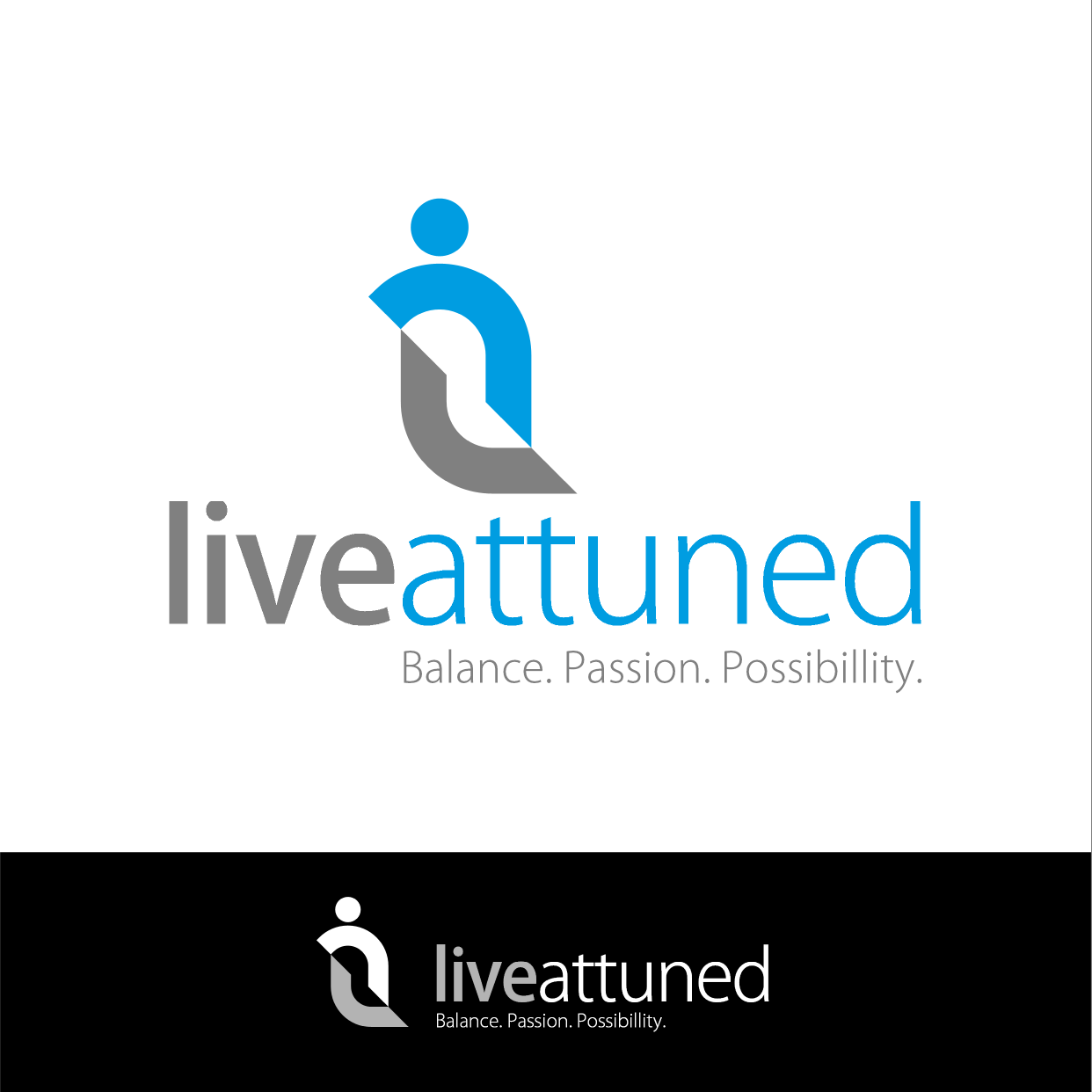 Logo Design by ENNO77 - Entry No. 143 in the Logo Design Contest New Logo Design for Live Attuned.