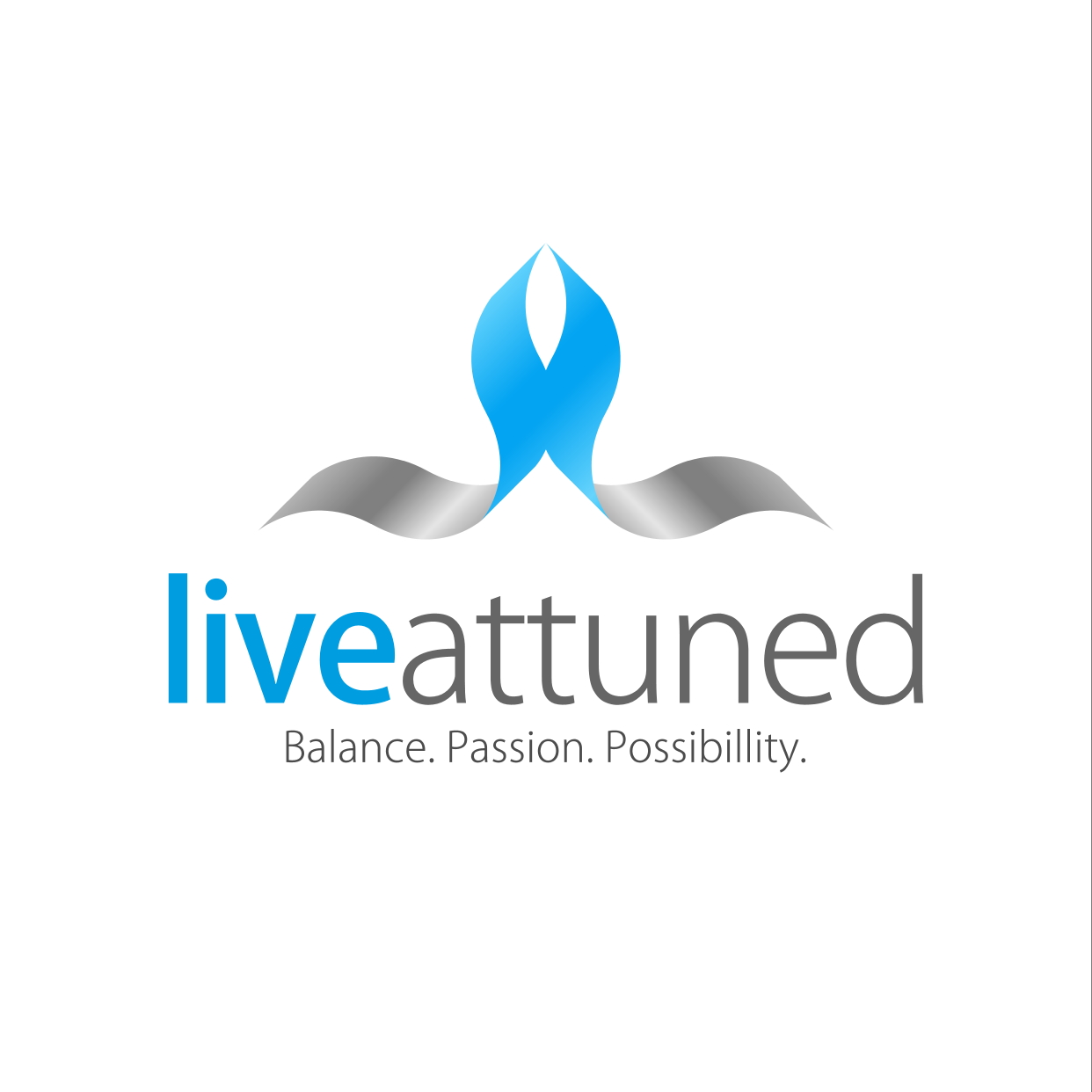 Logo Design by ENNO77 - Entry No. 146 in the Logo Design Contest New Logo Design for Live Attuned.