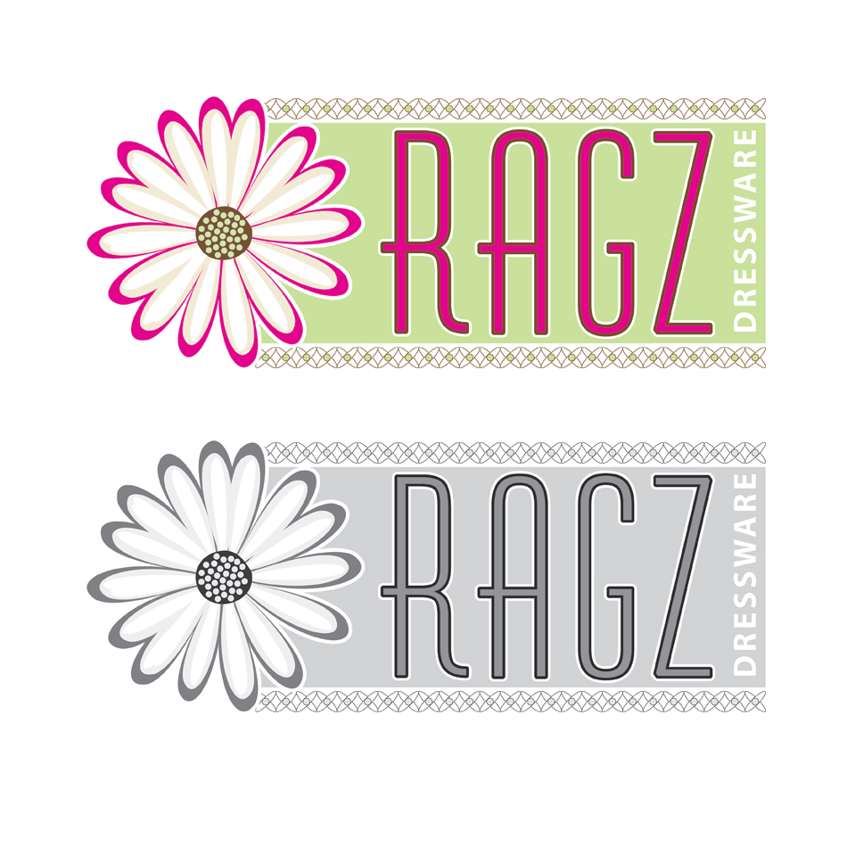Logo Design by jdkovak - Entry No. 320 in the Logo Design Contest Ragz Dressware.