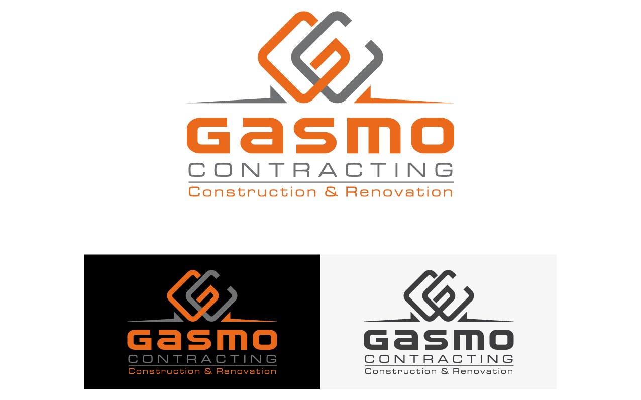 Logo Design by djacoob - Entry No. 50 in the Logo Design Contest Professional Logo Design for Gasmo Contracting.