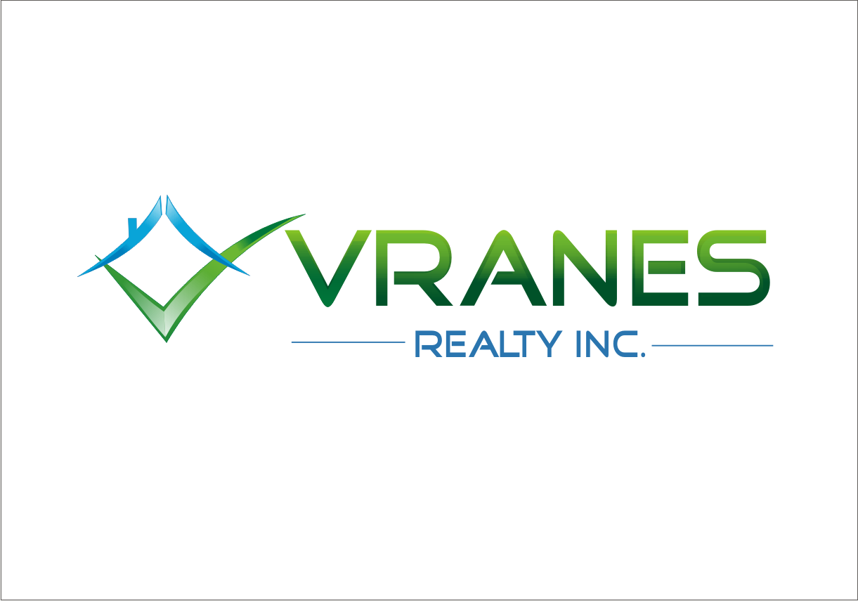 Logo Design by Rudsha - Entry No. 102 in the Logo Design Contest Logo Design Needed for Exciting New Company Vranes Realty Inc..