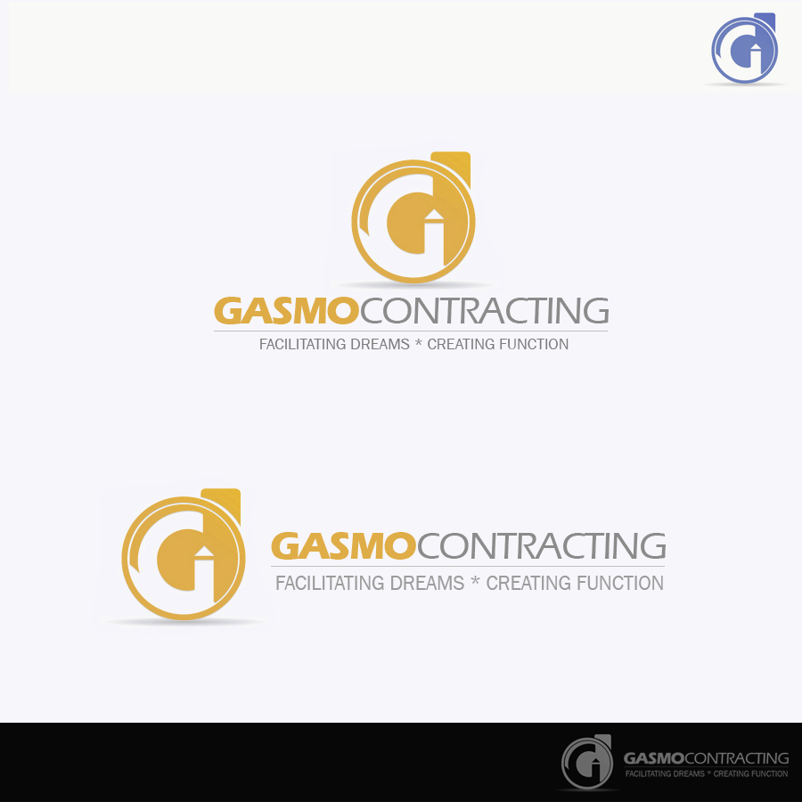 Logo Design by rockpinoy - Entry No. 63 in the Logo Design Contest Professional Logo Design for Gasmo Contracting.