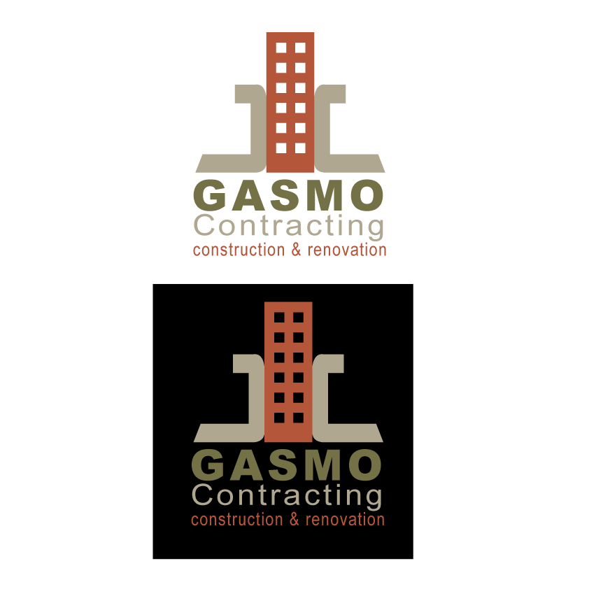 Logo Design by indee007 - Entry No. 65 in the Logo Design Contest Professional Logo Design for Gasmo Contracting.