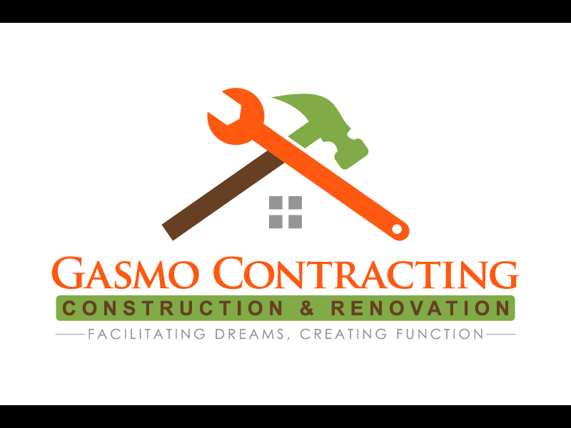 Logo Design by caturro - Entry No. 66 in the Logo Design Contest Professional Logo Design for Gasmo Contracting.