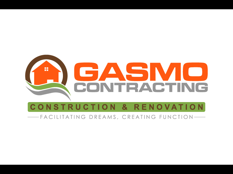 Logo Design by caturro - Entry No. 68 in the Logo Design Contest Professional Logo Design for Gasmo Contracting.