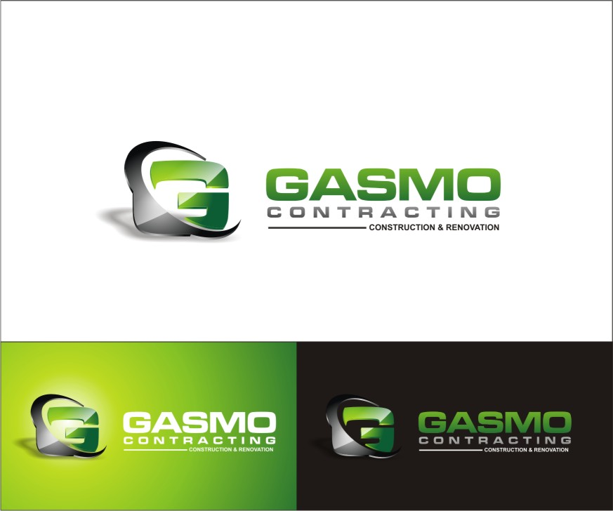 Logo Design by sweetenemy - Entry No. 69 in the Logo Design Contest Professional Logo Design for Gasmo Contracting.