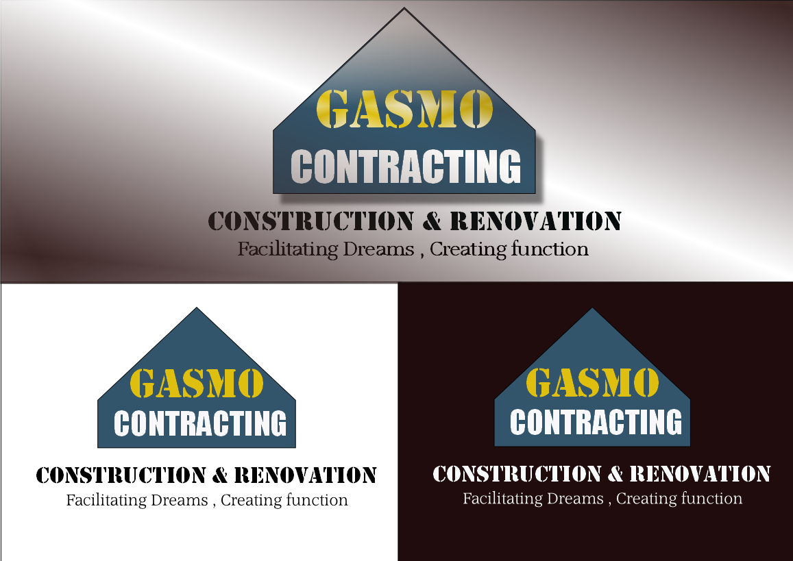 Logo Design by Heri Susanto - Entry No. 70 in the Logo Design Contest Professional Logo Design for Gasmo Contracting.