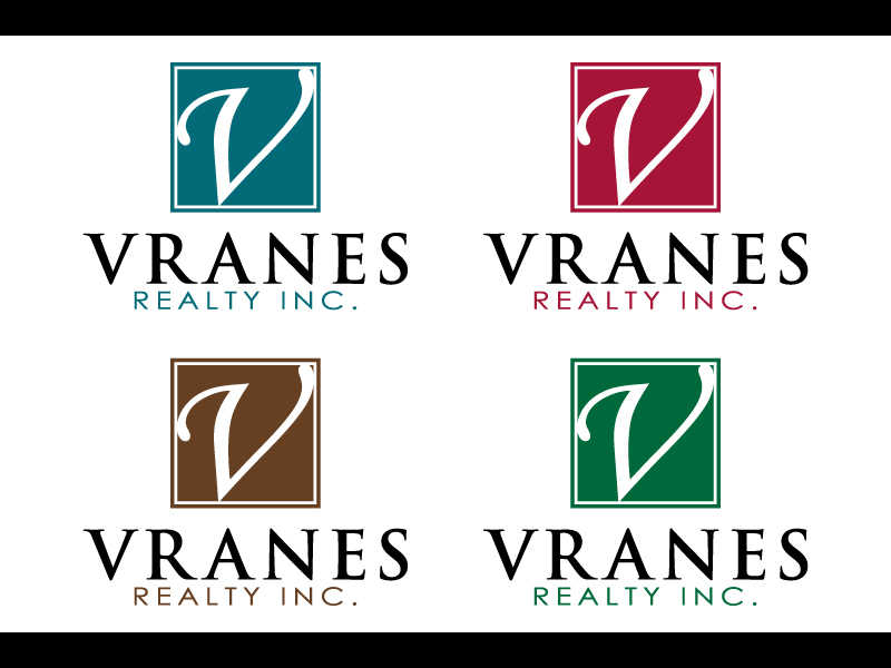 Logo Design by caturro - Entry No. 106 in the Logo Design Contest Logo Design Needed for Exciting New Company Vranes Realty Inc..