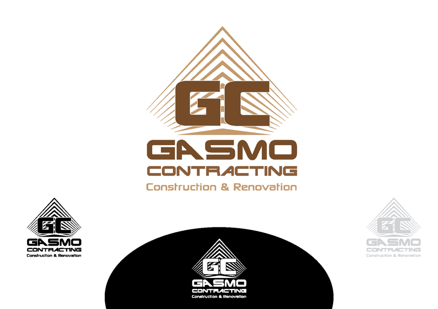 Logo Design by Riyaz - Entry No. 71 in the Logo Design Contest Professional Logo Design for Gasmo Contracting.