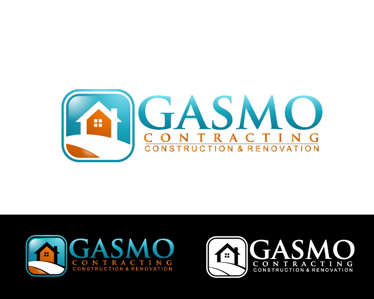 Logo Design by Private User - Entry No. 72 in the Logo Design Contest Professional Logo Design for Gasmo Contracting.