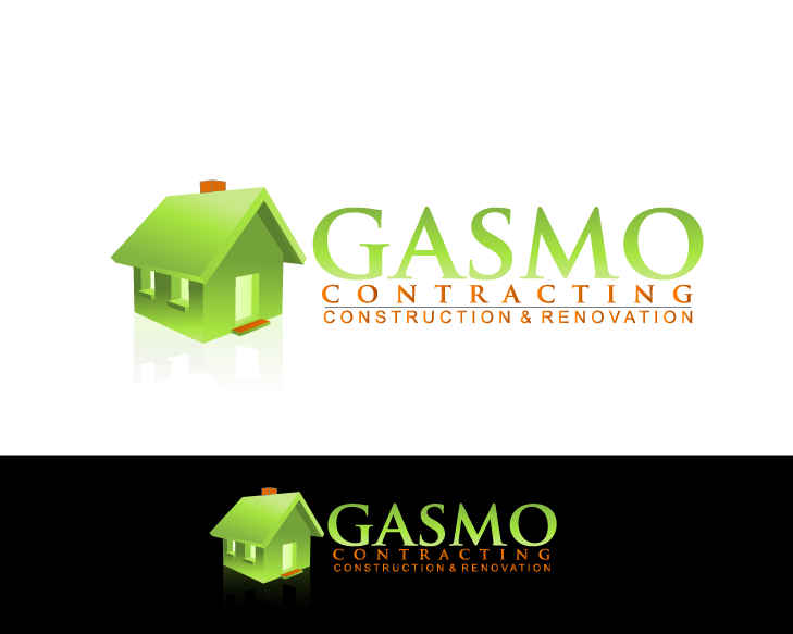 Logo Design by Private User - Entry No. 73 in the Logo Design Contest Professional Logo Design for Gasmo Contracting.