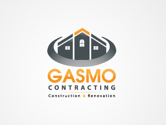Logo Design by zdesign - Entry No. 80 in the Logo Design Contest Professional Logo Design for Gasmo Contracting.