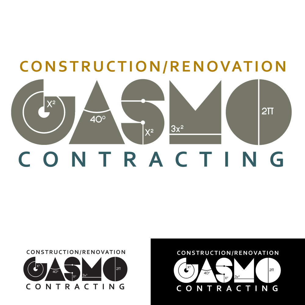 Logo Design by caseofdesign - Entry No. 81 in the Logo Design Contest Professional Logo Design for Gasmo Contracting.