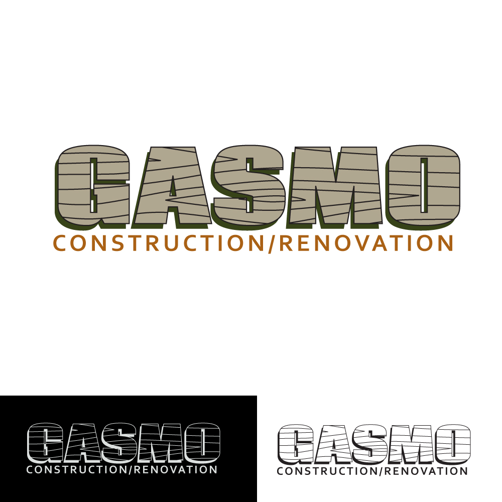 Logo Design by caseofdesign - Entry No. 82 in the Logo Design Contest Professional Logo Design for Gasmo Contracting.