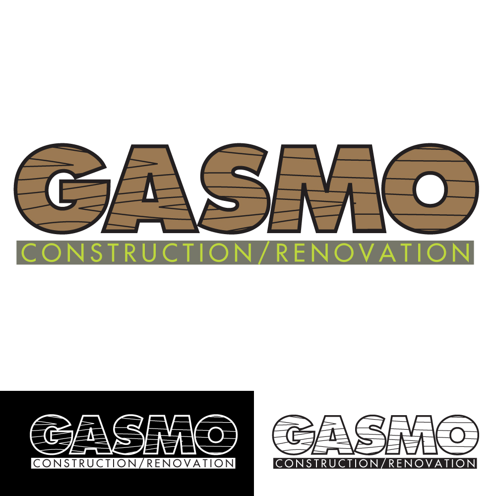 Logo Design by caseofdesign - Entry No. 83 in the Logo Design Contest Professional Logo Design for Gasmo Contracting.