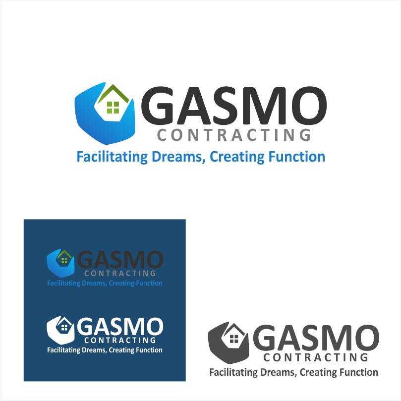 Logo Design by crazyeye - Entry No. 88 in the Logo Design Contest Professional Logo Design for Gasmo Contracting.