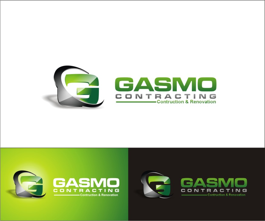 Logo Design by sweetenemy - Entry No. 91 in the Logo Design Contest Professional Logo Design for Gasmo Contracting.
