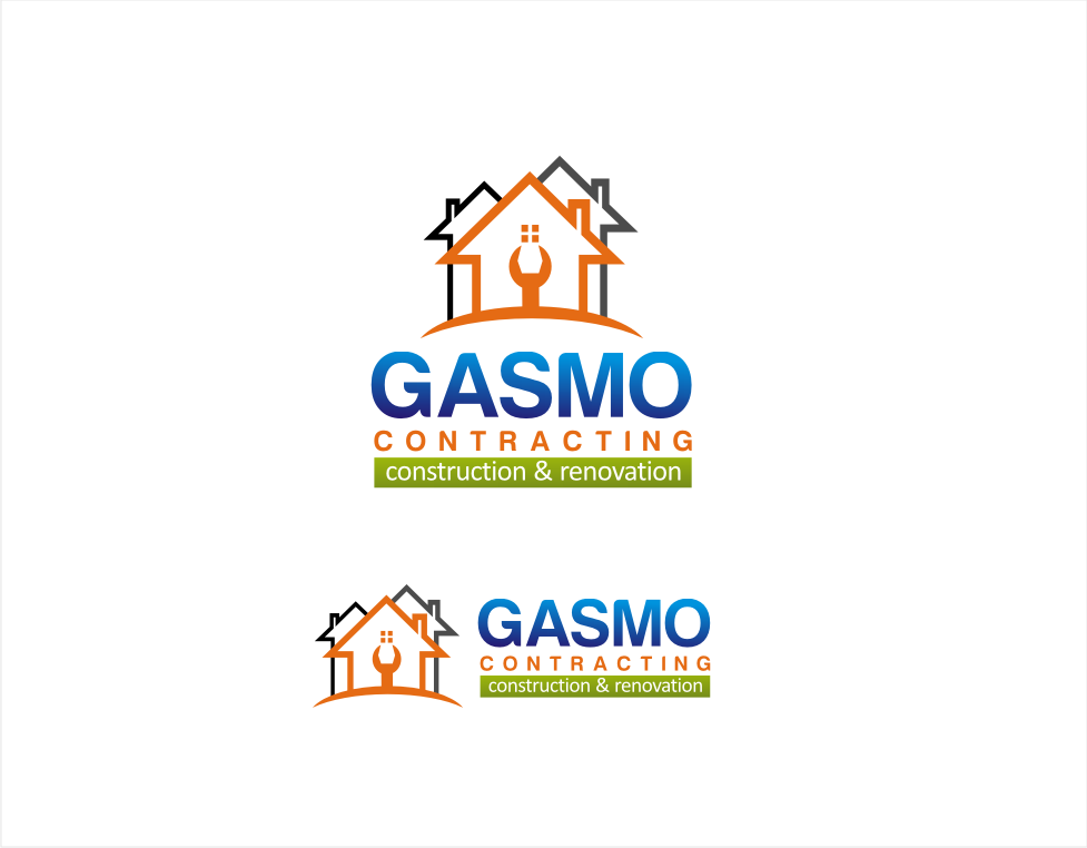 Logo Design by walangsangit - Entry No. 95 in the Logo Design Contest Professional Logo Design for Gasmo Contracting.