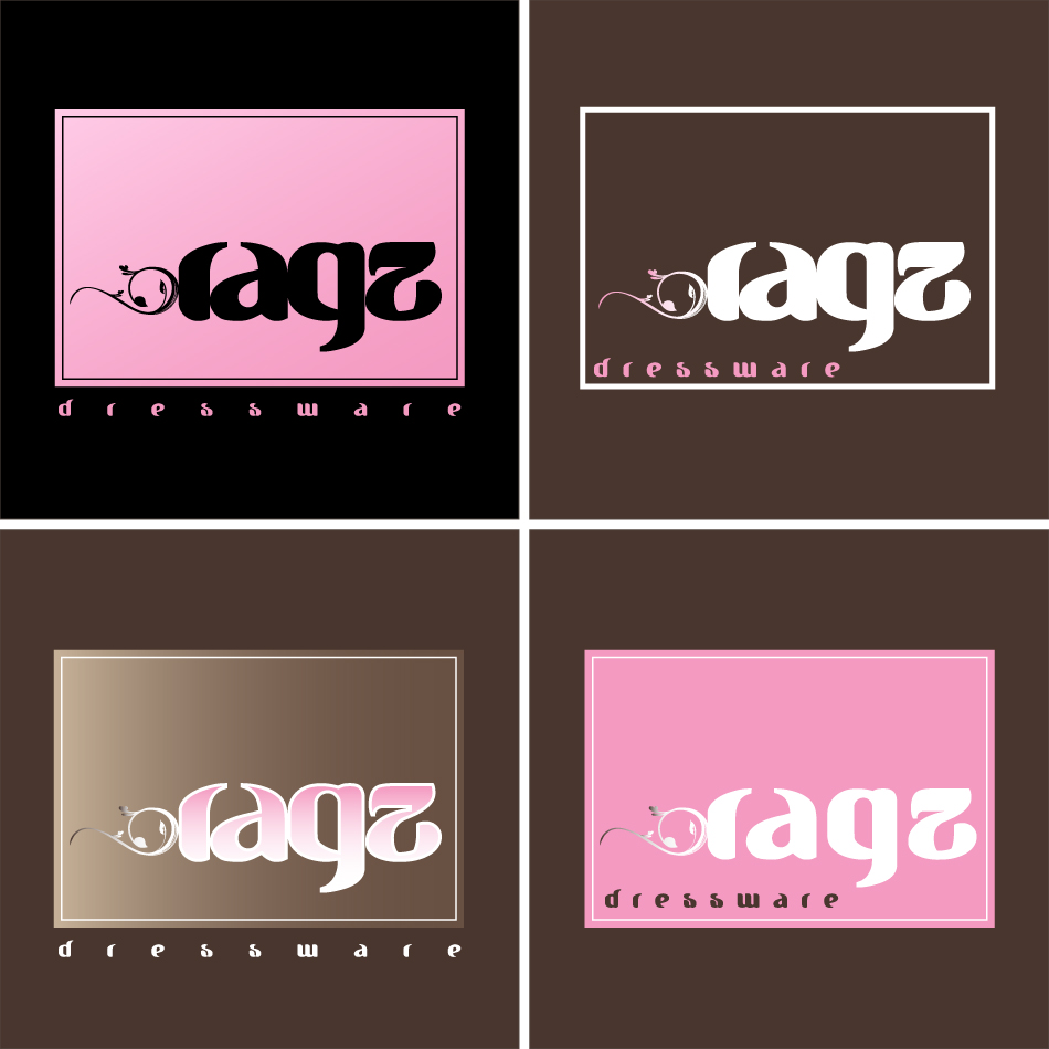 Logo Design by trav - Entry No. 337 in the Logo Design Contest Ragz Dressware.