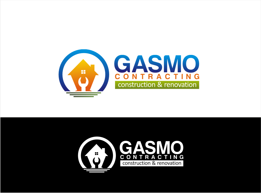 Logo Design by walangsangit - Entry No. 97 in the Logo Design Contest Professional Logo Design for Gasmo Contracting.