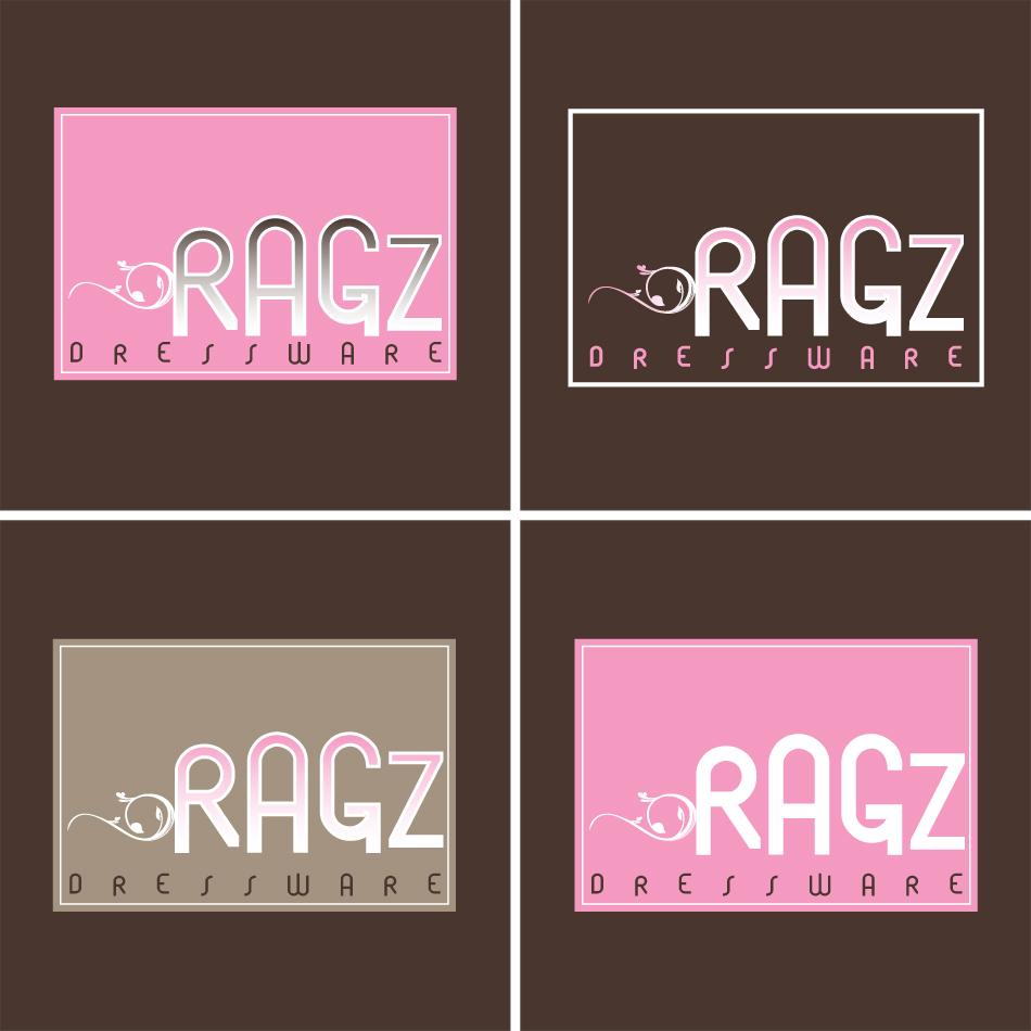 Logo Design by trav - Entry No. 338 in the Logo Design Contest Ragz Dressware.