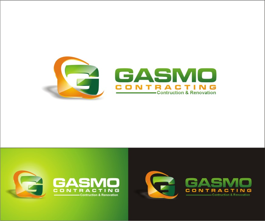 Logo Design by sweetenemy - Entry No. 99 in the Logo Design Contest Professional Logo Design for Gasmo Contracting.