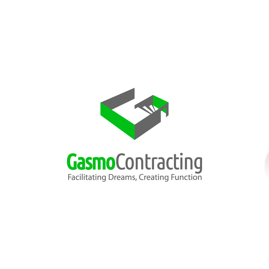 Logo Design by zesthar - Entry No. 103 in the Logo Design Contest Professional Logo Design for Gasmo Contracting.