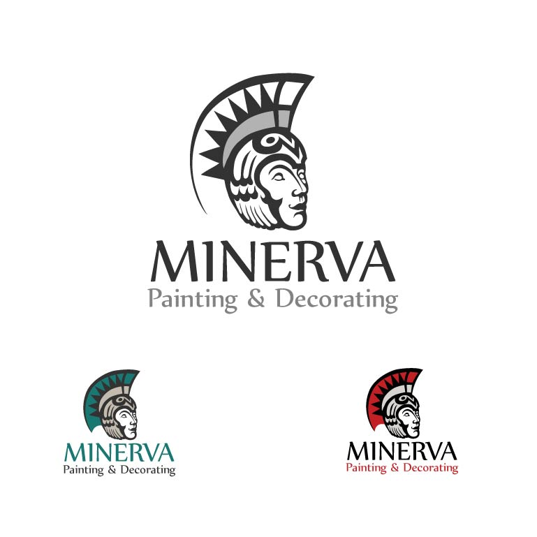 Logo Design by Kovacs Katalin - Entry No. 12 in the Logo Design Contest New Logo Design for Minerva Painting & Decorating Ltd..