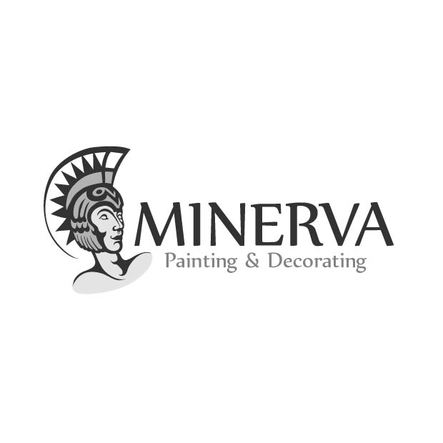 Logo Design by Kovacs Katalin - Entry No. 13 in the Logo Design Contest New Logo Design for Minerva Painting & Decorating Ltd..