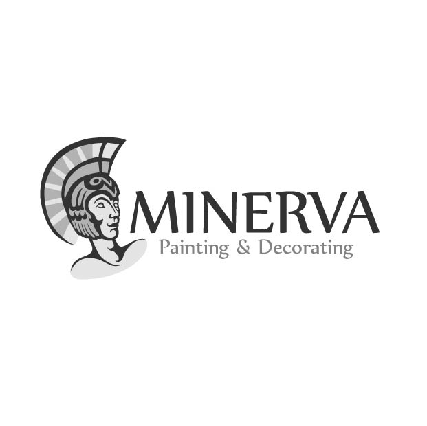 Logo Design by Kovacs Katalin - Entry No. 15 in the Logo Design Contest New Logo Design for Minerva Painting & Decorating Ltd..