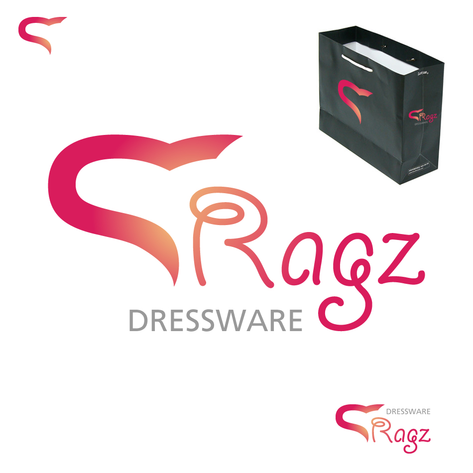 Logo Design by Damjan Jovancic - Entry No. 341 in the Logo Design Contest Ragz Dressware.