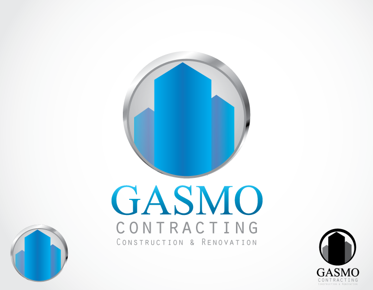 Logo Design by t-design - Entry No. 108 in the Logo Design Contest Professional Logo Design for Gasmo Contracting.